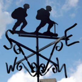 Hikers Weather Vane